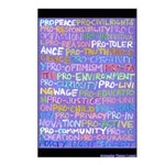 8-pack Progressive Words Postcards
