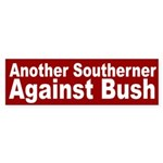 Southerners Against Bush (bumper sticker)