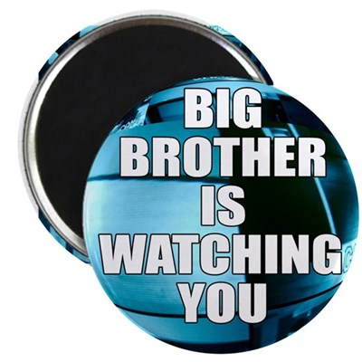Big Brother Is Watching You (magnet)