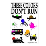 These Colors Don't Run Postcards