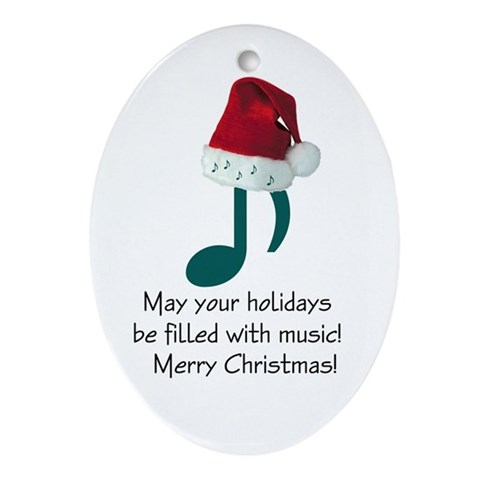 Christmas Music Ornament $ 12.50