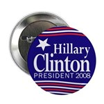 Hillary Clinton President 2008 (button)