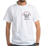 Parkinson's Butterfly 6.1 White T-Shirt