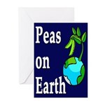 Peas On Earth (6 Greeting Cards)