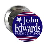 John Edwards President 2008 Button