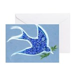 Peace Dove 48 Percent Greeting Cards