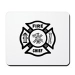 Fire Chief  Mousepad and more great fire chief gift ideas!