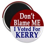 Don't Blame Me I Voted Magnet (100 pack)