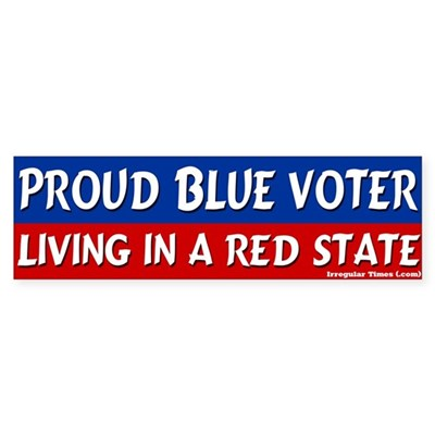 Florida Blue Voter Bumper Sticker