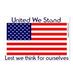 United We Stand Surprise Postcards