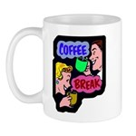 Retro Coffee Break Mug