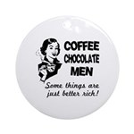 Coffee, Chocolate, Men Ornament