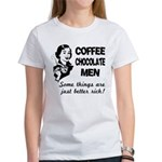 Coffee, Chocolate, Men Women's T-Shirt