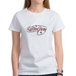Retro Coffee Shop Women's T-Shirt