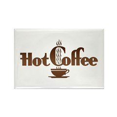 Hot Coffee Magnet