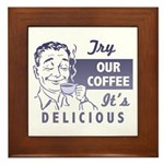 Coffee Shop Ad Plaque