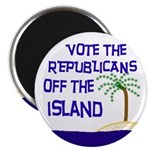 Vote Republicans Out Magnet (100 pack)