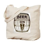 Beer On Tap Tote Bag