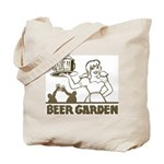 Beer Garden Tote Bag