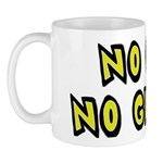 No Gut No Glory Beer Mug