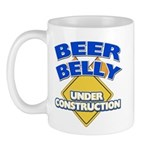 Beer Belly Under Construction Mug
