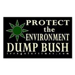 Pro-Environment, Anti-Bush sticker