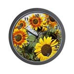 Custom wall clocks with sunflower themes!