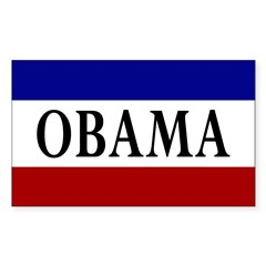 RWB Obama Campaign Bumper Sticker