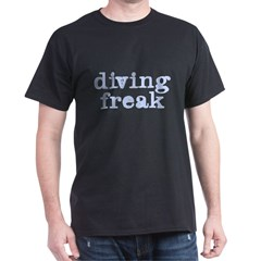 Diving Freak Dark T-Shirt