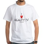 Love Reality TV White T-shirt