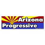 Arizona Progressive Bumper Sticker