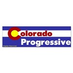 Colorado Progressive Bumper Sticker