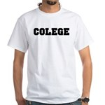 COLEGE White T-shirt