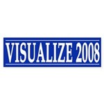 Visualize 2008 (bumper sticker)