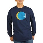 Circle Runner Long Sleeved Dark T-Shirt