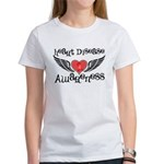 Heart Disease Awareness Women's T-Shirt