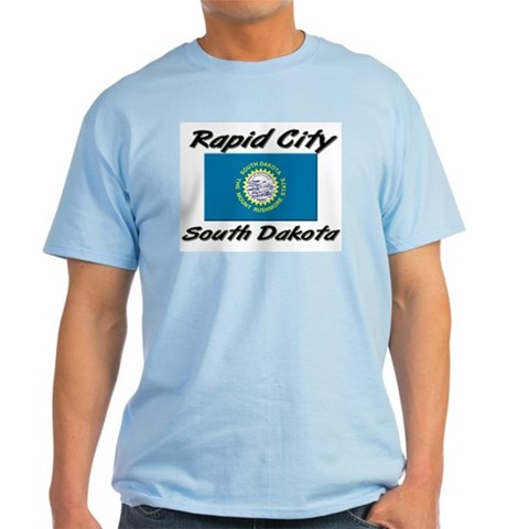 Rapid City South Dakota  City Light T-Shirt by CafePress