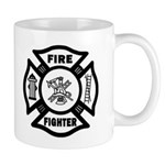New fire maltese design on firefighter t shirts, gift mugs, firefighter mousepads, tote bags, clocks and more! Basic Fire Chief Maltese, Fire Rescue and Firefighter EMT maltese designs also!