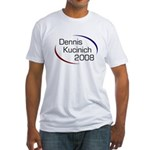Dennis Kucinich 2008 Fitted T-Shirt