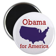 Obama for America Magnet