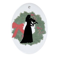 Lady Violinist Ornament