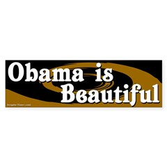 Obama is Beautiful bumper sticker