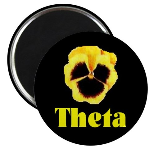 2.25 Pansy Magnet 10 pack Pansy 2.25 Magnet 10 pack by CafePress
