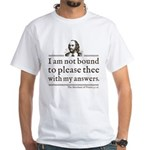 Shakespeare Not Bound To Please T-Shirt
