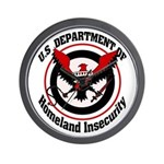 Homeland Insecurity Wall Clock