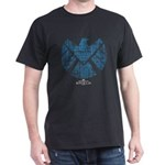 SHIELD Logo Alien Writing T-Shirt