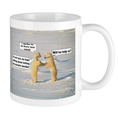 "Click Here for more details on the Al Gore ""Bears"" Mug"