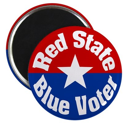 Nevada Red State Blue Voter