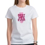 Best Wife Ever Romantic Quote T-Shirt