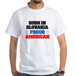 Born In Slovakia Proud American T-Shirt